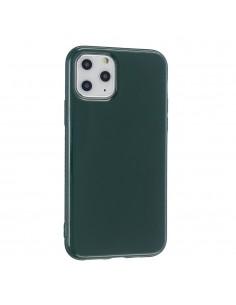 Coque iPhone 11 Glossy Vert