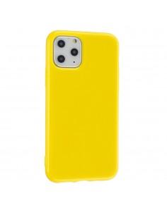Coque iPhone 11 Glossy Jaune