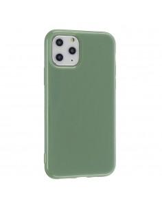 Coque iPhone 11 Glossy Vert...