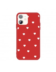 Coque iPhone 11 Coeur Rouge