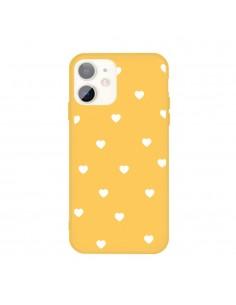 Coque iPhone 11 Coeur Jaune
