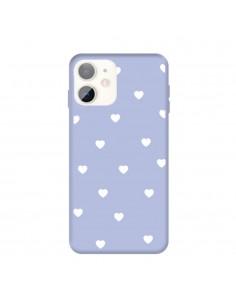 Coque iPhone 11 Coeur Bleu