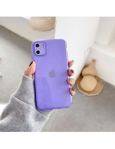 Coque iPhone 11 Fluo Violet