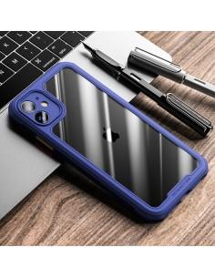 Coque iPhone 11 Hybrid Bleu