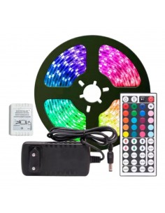 Ruban LED RGB 20 couleurs - 5m