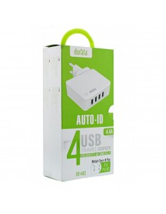 Chargeur USB 4 ports 4.4A...